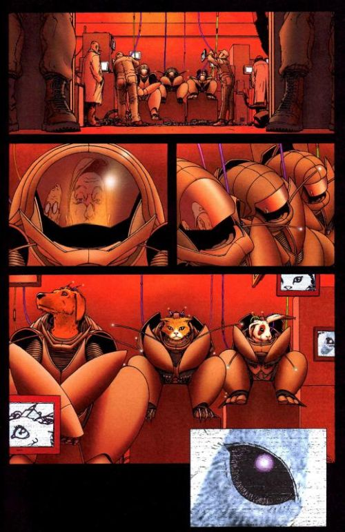 WE3 : Nou3 (0), comics chez Urban Comics de Morrison, Quitely, Grant