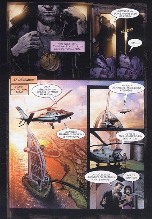 Les Quatre cavaliers de l'apocalypse T1 : L'infernaute (0), comics chez Nickel de Jaffee, Kennedy, Mendheim, Bisley, Drake, Fidler, Khivrenko, Bradstreet