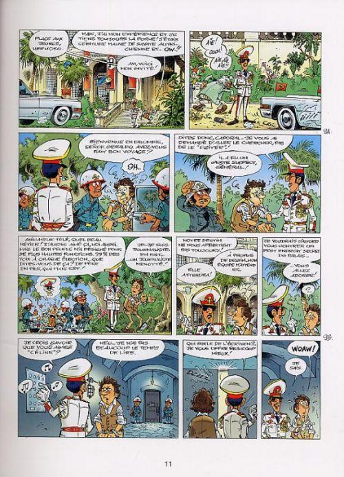 Marsupilami T25 : Sur la piste du Marsupilami (0), bd chez Marsu Productions de Colman, Donner, Chabat, Batem, Cerise