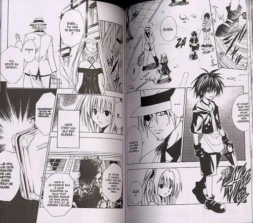 Black Cat T11 : La Promesse (0), manga chez Glénat de Yabuki