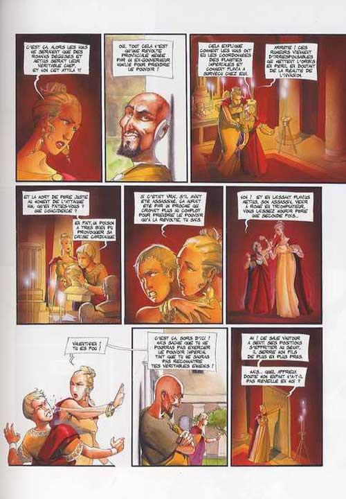 Le fléau des dieux T3 : Urbi et Orbi (0), bd chez Soleil de Mangin, Gajic
