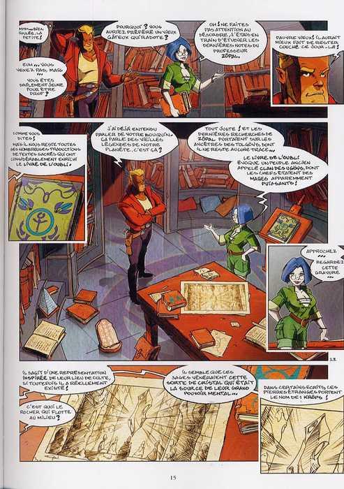 Shrög T1 : Le livre de l'oubli (0), bd chez Vents d'Ouest de Campoy, Campoy
