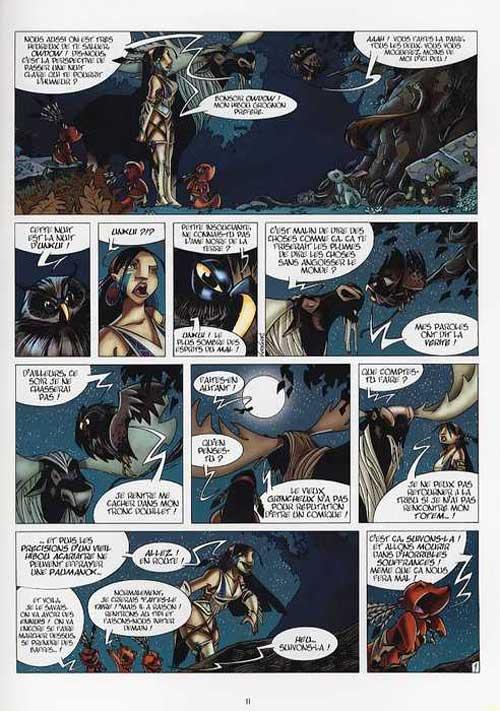 Luuna T1 : La nuit des totems (0), bd chez Soleil de Crisse, Keramidas, Garcia