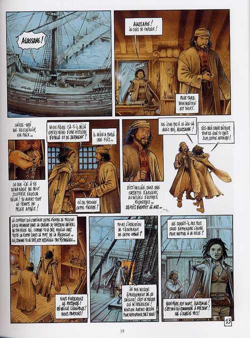 La conjuration d'Opale T1 : Le serment (0), bd chez Dargaud de Hamm, Corbeyran, Grun