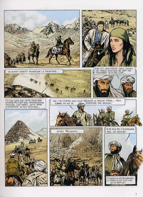 Insiders – Saison 1, T4 : Le piège Afghan (0), bd chez Dargaud de Garreta, Bartoll, Kness