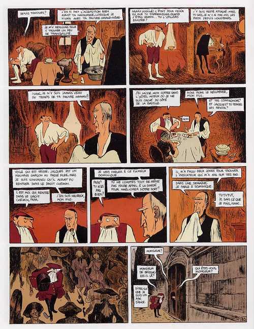 Isaac le pirate T5 : Jacques (0), bd chez Dargaud de Blain, Walter