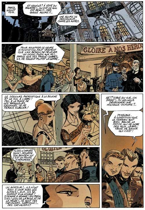 Quintett T1 : Histoire de Dora Mars (0), bd chez Dupuis de Giroud, Bonin