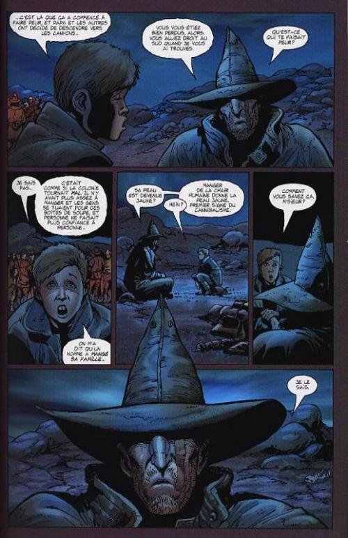 Just a pilgrim T1 : Régner en Enfer (0), comics chez Semic de Ennis, Ezquerra, Wolak, Mounts, Texeira