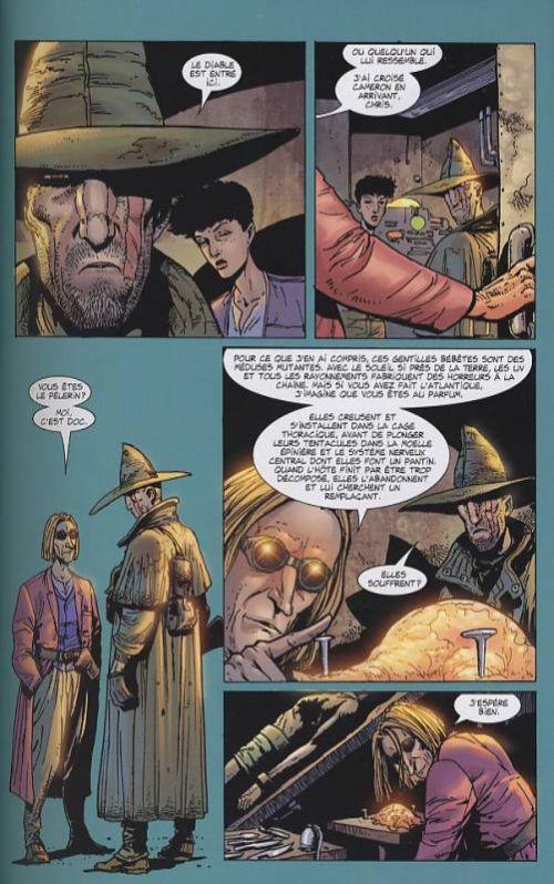 Just a pilgrim T2 : Le Jardin d'Eden (0), comics chez Semic de Ennis, Ezquerra, Wolak, Mounts de Bongotone, Texeira