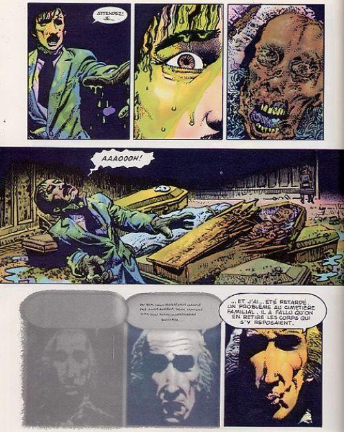 La chute de la maison Usher, comics chez Albin Michel de Corben