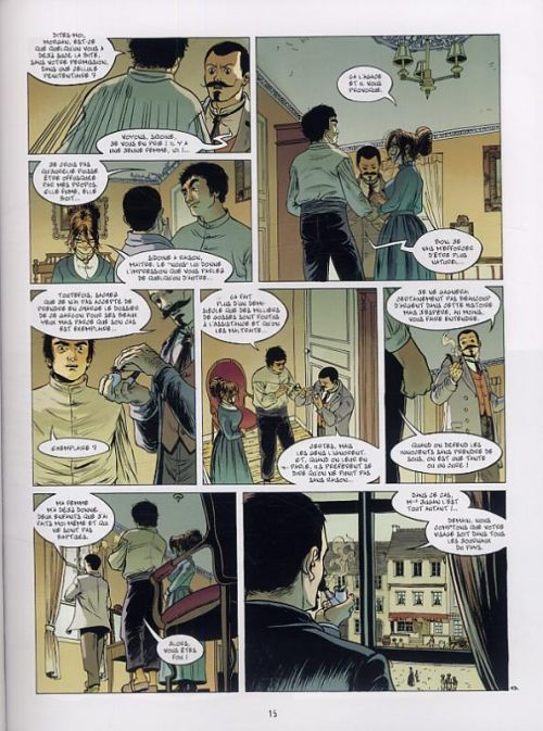 Le Fils de l'officier T2 : Un cauchemar dans la tête... (0), bd chez Bamboo de Ordas, Cothias, Galland, Bouët