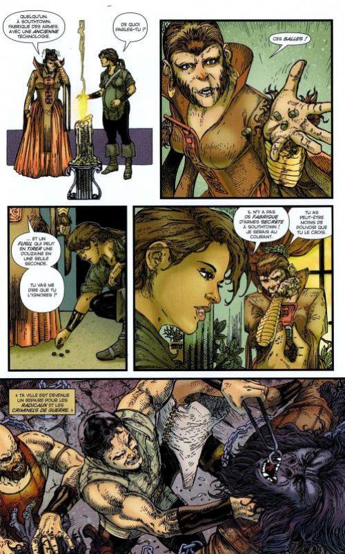 La Planète des singes T1, comics chez Emmanuel Proust Editions de Gregory, Magno, Woodard, Tumburus, Richardson