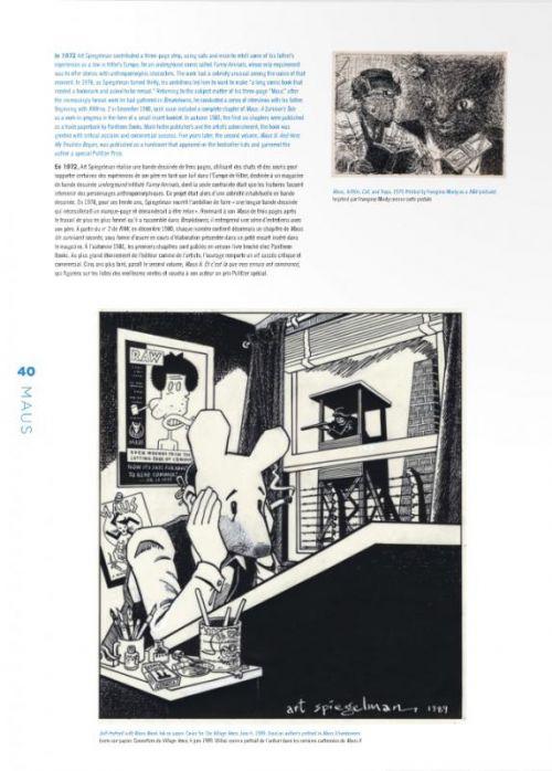 CO-MIX : Une rétrospective de bandes dessinées, graphisme et débris divers (0), comics chez Flammarion de Spiegelman