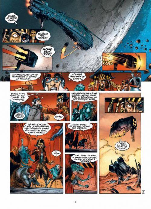 Kookaburra universe T16 : Casus Belli - Invasion (0), bd chez Soleil de Guérin, Damour, Alquier