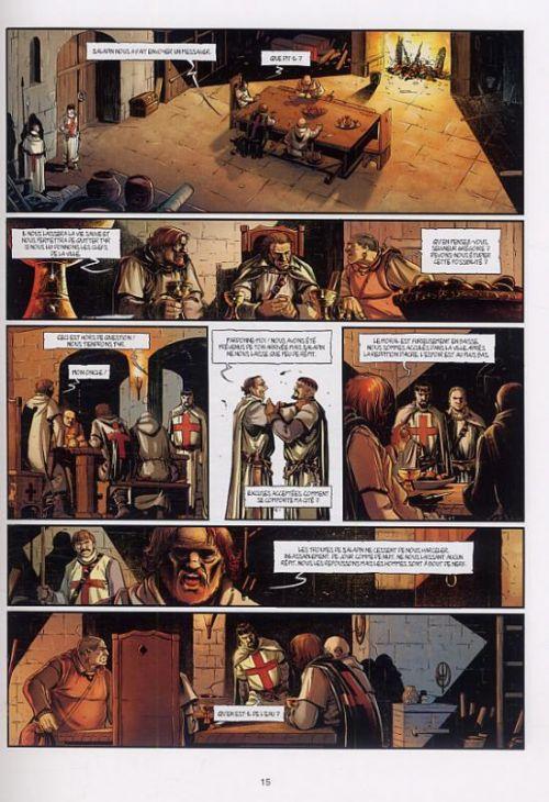 Templier T1 : Dans les murailles de Tyr (0), bd chez Soleil de Istin, Colak, Léoni, Jacquemoire, Brockbank