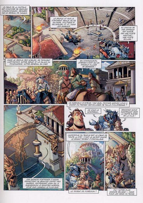 Questor – cycle 1, T2 : L'affaire Atlante (0), bd chez Soleil de Sala, Saviori, Bassini