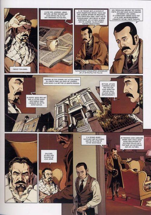 Van Helsing contre Jack l'éventreur T1 : Tu as vu le diable (0), bd chez Soleil de Lamontagne, Radovic, Thomas