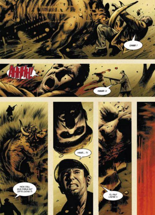 Iron Siege, comics chez Soleil de Hong, Abraham, Goring, Goleash, Bradstreet