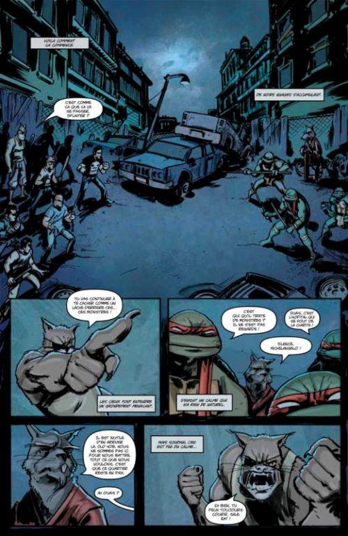 Les Tortues Ninja T2 : Ennemis un jour... (0), comics chez Soleil de Waltz, Eastman, Duncan, Santolouco