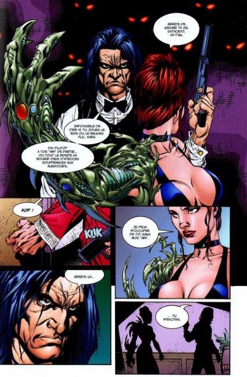 Aliens / Witchblade / Darkness / Predator, comics chez Soleil de Quinn, Rubi, Perkins, Jackson, Turner