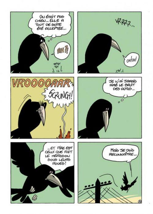 Le Chant du Corbeau, bd chez La boîte à bulles de Pol, Vallale
