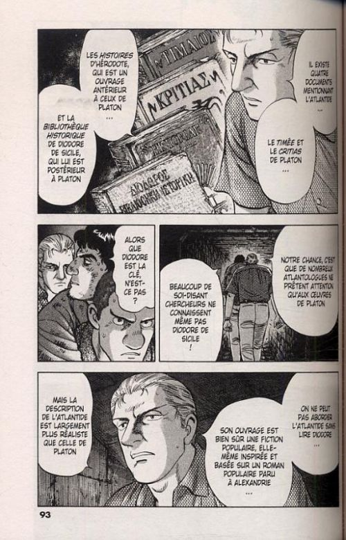 Dossier A. T11, manga chez Delcourt de Toshusai, Uoto
