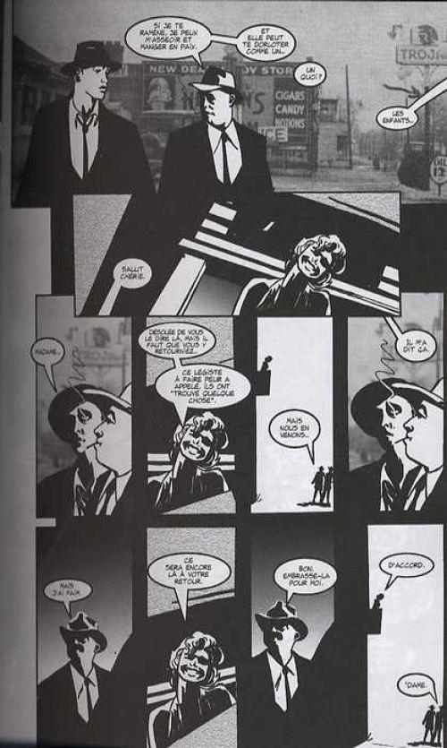 Torso, comics chez Semic de Bendis, Andreyko