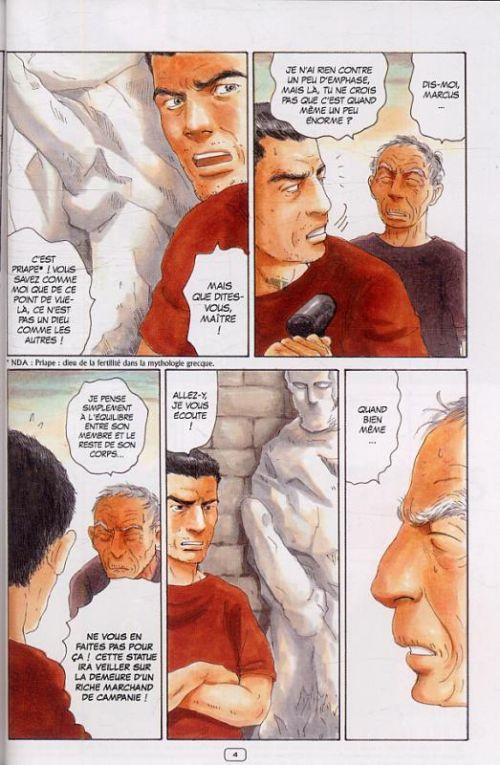 Thermae Romae T2, manga chez Casterman de Yamazaki