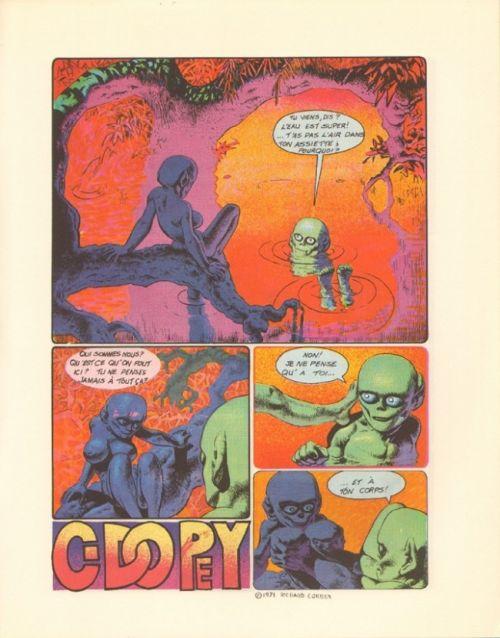 Ogre, comics chez Les Humanoïdes Associés de Strnad, Corben