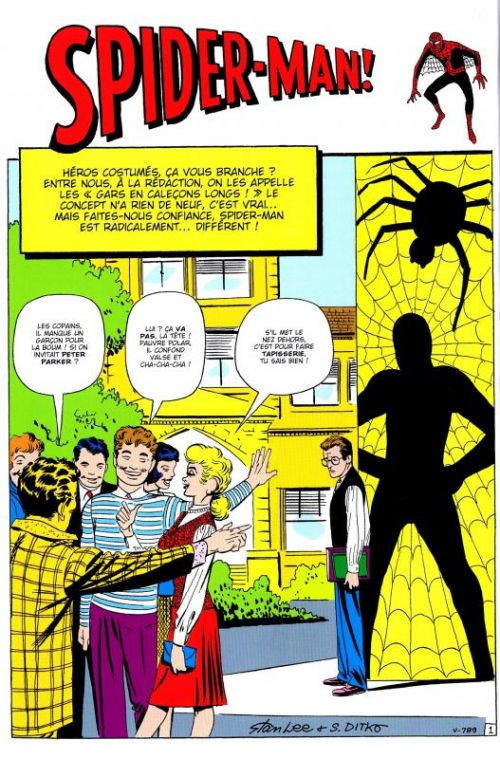 Spider-Man L'intégrale : 1962-1963 (0), comics chez Panini Comics de Lee, Ditko, Djurdjevic