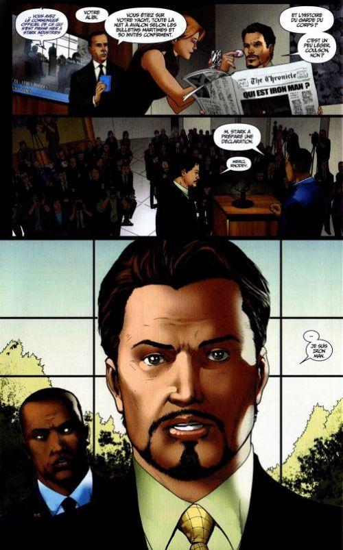 Marvel Movies T1 : Iron Man 2 (0), comics chez Panini Comics de Casey, Theroux, Camp, Green, Ruiz, Kitson, Lim, Doe, Milla, Hannin, Granov