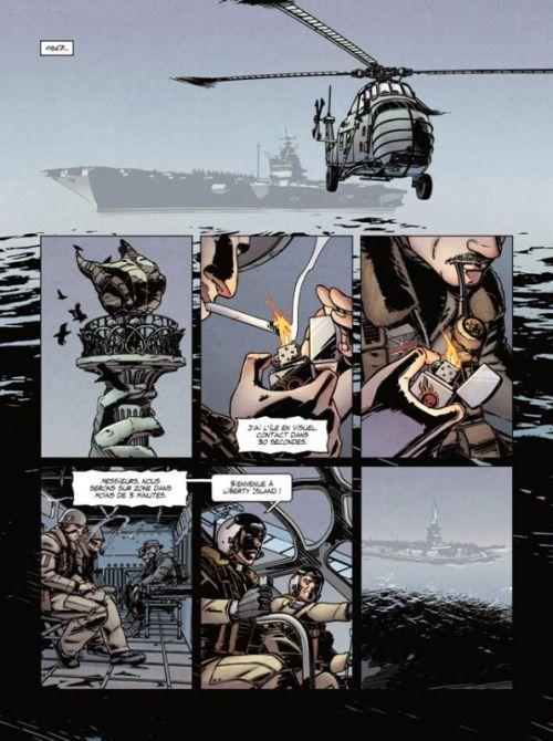 Jour J T9 : Apocalypse sur le Texas (0), bd chez Delcourt de Pécau, Duval, Kovačević, Thorn, Manchu, Blanchard