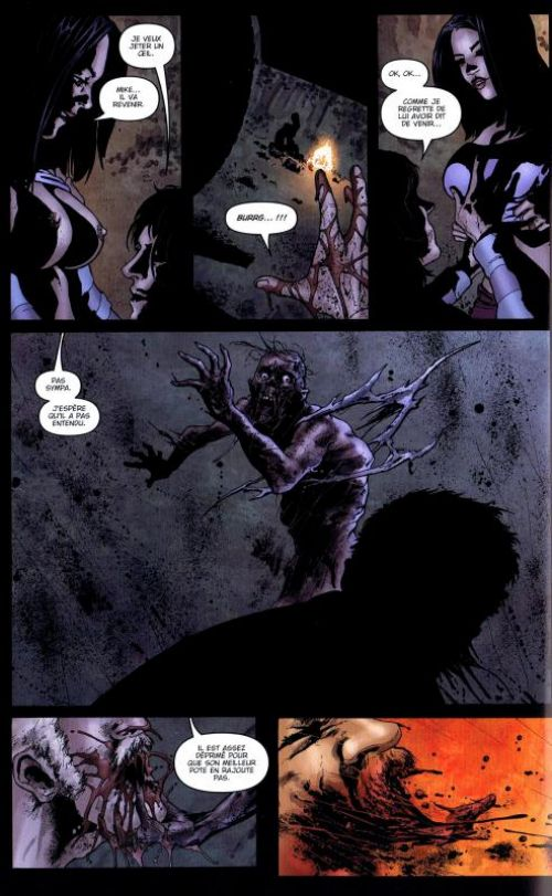 La nuit des morts-vivants T1, comics chez Panini Comics de Russo, Wolfer, Fiumara, Dalhouse, Guru efx, Burrows