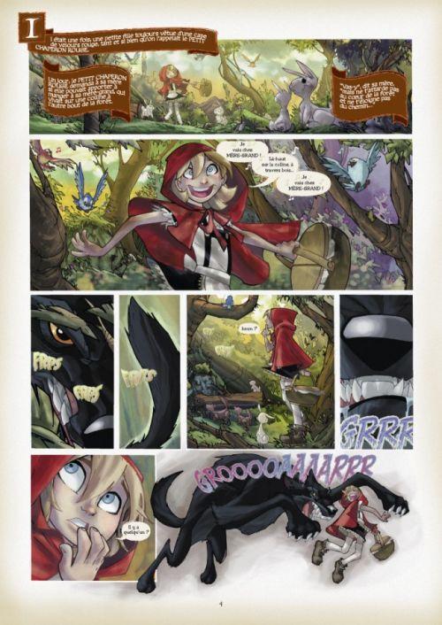 Fairy Quest T1 : Les hors-la-loi (0), comics chez Glénat de Jenkins, Ramos, Olea
