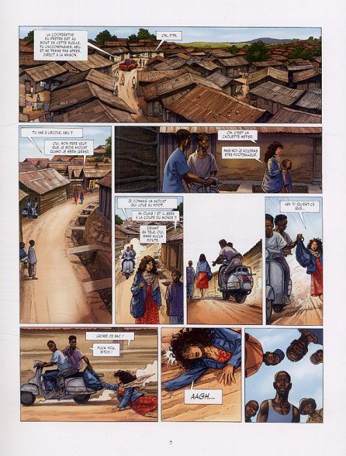 Les Munroe T3 : Les larmes de Kibera (0), bd chez Glénat de Perrissin, Pavlovic, Denoulet