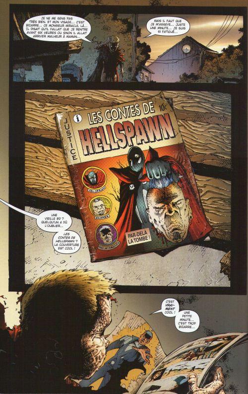 Les chroniques de Spawn T7 : Todd McFarlane revient ! (0), comics chez Delcourt de Hine, McFarlane, Tan, Troy, Milla, Haberlin, Fotos