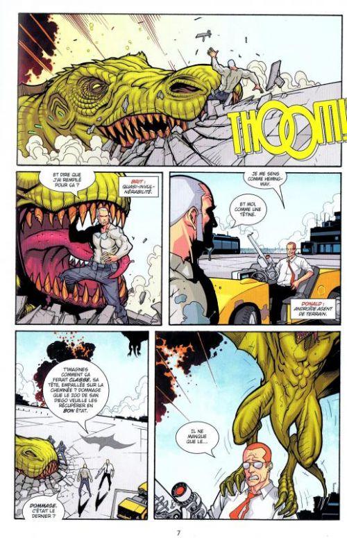 Brit T2 : Déserteur (0), comics chez Delcourt de Brown, Kirkman, Kuhn, Rathburn