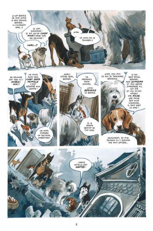 Bêtes de somme T1 : Mal de chien (0), comics chez Delcourt de Dorkin, Thompson