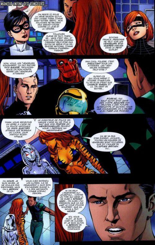 Marvel Heroes – Revue V 3, T15 : Quelqu'un comme nous (0), comics chez Panini Comics de Gage, Gillen, Bendis, Chen, Portacio, Romita Jr, Elson, Cox, Mounts, Kholinne, Janson, Davis