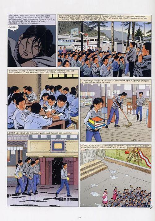 Tibet, L'espoir dans l'exil, bd chez Editions du Signe de Jannot, Glogowski, Léonardo