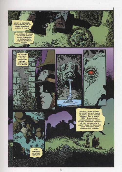 La maison au bord du monde, comics chez Toth de Revelstroke, Corben, Loughridge