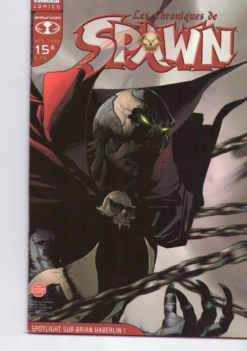 Les chroniques de Spawn T15 : Spotlight sur Brian Haberlin ! (0), comics chez Delcourt de Niles, Hine, Templesmith, Haberlin, Troy, Capullo