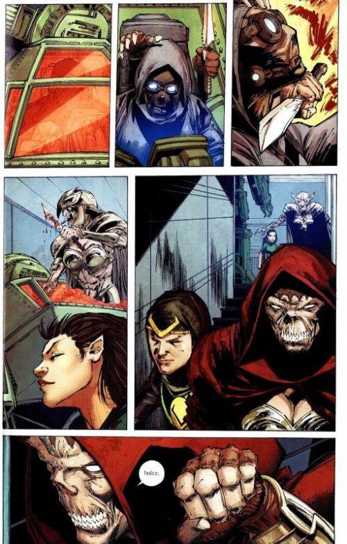 Marvel Heroes – Revue V 3, T16 : La nouvelle promo (0), comics chez Panini Comics de Gillen, Bendis, Braithwaite, Acuña, Portacio, Elson, Arreola, Kholinne, Rauch, Immonen