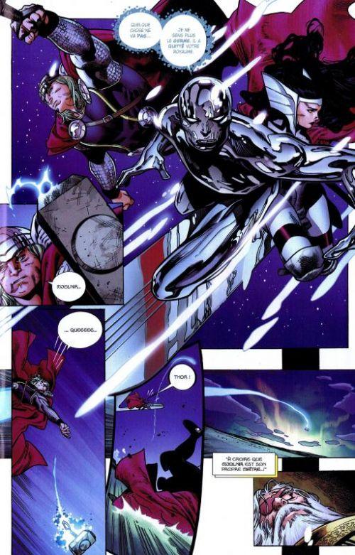 The Avengers (revue) – V 2, T5 : Une aube nouvelle (0), comics chez Panini Comics de Heinberg, Brubaker, Fraction, McNiven, Coipel, Cheung, Ponsor, Martin, Meinerding
