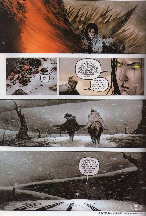 Les chroniques de Spawn T17 : Spawn Godslayer : la malédiction frappe encore ! (0), comics chez Delcourt de Holguin, Hine, Tan, Haberlin, Troy, Hannin, Anacleto, Milla
