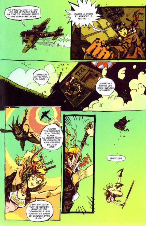 Tank Girl : Everybody loves Tank Girl (0), comics chez Ankama de Martin, Mahfood