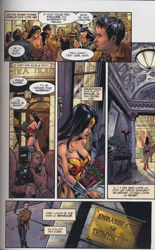 Wonder Woman : Hiketeia (0), comics chez Semic de Rucka, Jones, Stewart