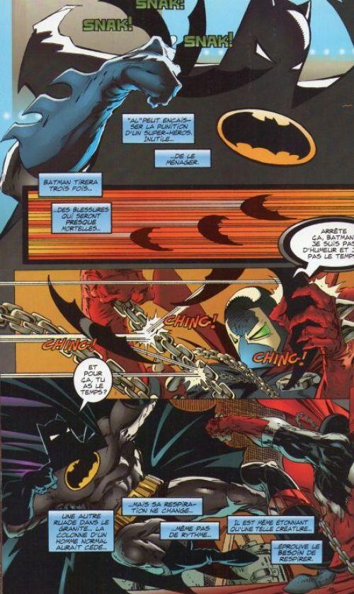 Spawn - Hors série T1 : Spawn / Batman (0), comics chez Semic de Miller, McFarlane, Oliff