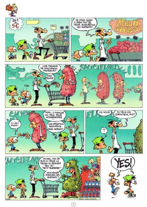 Game Over T9 : Bomba fatale (0), bd chez Mad Fabrik de Midam, Patelin, Netch, Mariolle, Auger, Adam, BenBK
