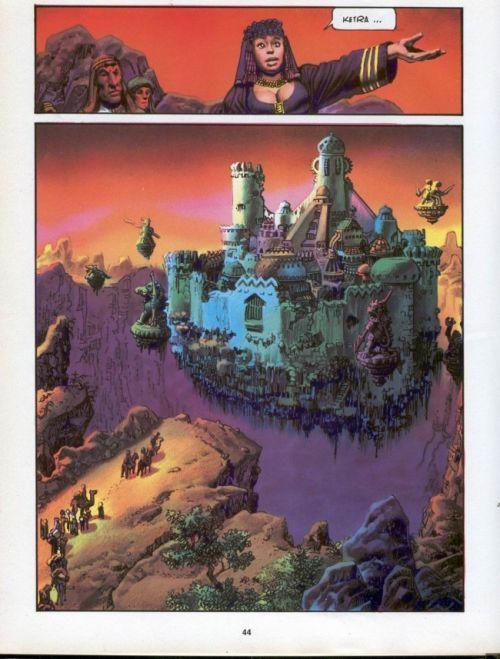 Les mille et une nuits, comics chez Les Humanoïdes Associés de Strnad, Corben